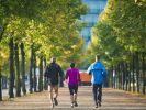 Jogger beim Training für den Berlin-Marathon (Foto)