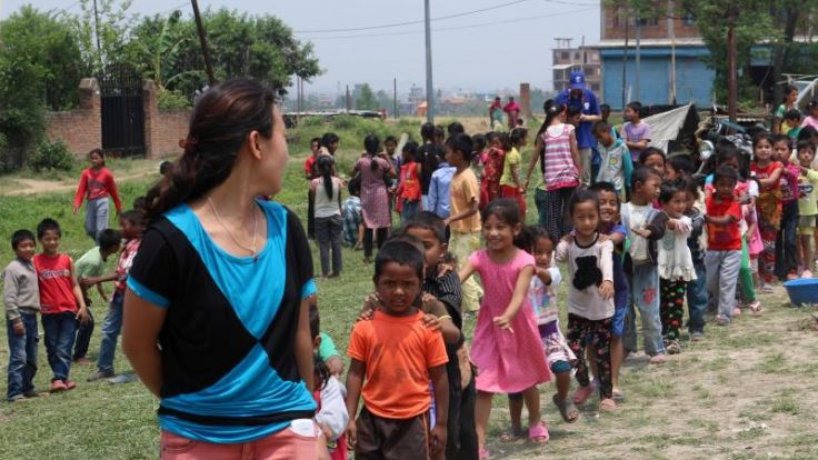 Helferin: Menschen in Nepal haben Angst vor Monsun (Foto)