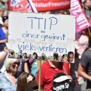 EU-Parlament verschiebt nach Tumult Debatte über TTIP-Abkommen (Foto)
