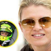 Wie verkraftet Corinna Schumacher die Belastung? (Foto)