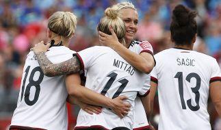Die deutsche Nationalmannschaft. (Foto)