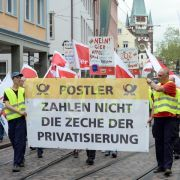 Verdi erhöht bei Poststreiks den Druck (Foto)