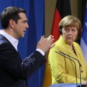 Auch Kanzlerin Merkel rechnet jetzt mit dem Grexit (Foto)