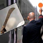 Angreifer zerfetzt Schaffner den Arm (Foto)