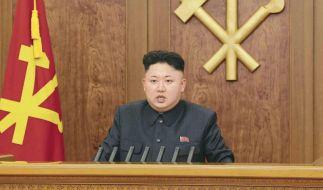 Nordkoreas Diktator Kim Jong Un soll einen Friedenspreis einer indonesischen Stiftung bekommen. (Foto)