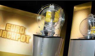 Eurojackpot am Freitag: Infos zu Gewinnzahlen im Eurolotto, Quoten und Jackpot finden Sie hier. (Foto)