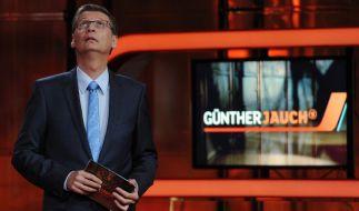 Nach vier Jahren Talk im Ersten hört Günther Jauch auf. (Foto)
