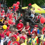SPD-Chef Gabriel: Kita-Beschäftigte besser bezahlen (Foto)