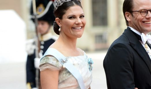 Die Schwester des Bräutigams: Kronprinzessin Victoria von Schweden und Ehemann Daniel. Töchterlein Estelle war nicht dabei.