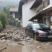 Schlammlawine verwüstet Oberstdorf - Evakuierung! (Foto)