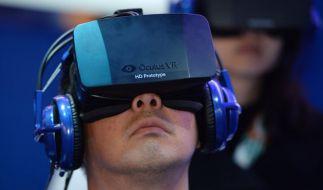 Datenbrille für virtuelle Realität (Foto)