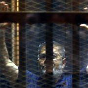 Gericht bestätigt Todesurteil gegen Ex-Präsident Mursi (Foto)