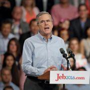 Jeb Bush kämpft gegen starke Gegner ums Weiße Haus (Foto)