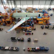 Auftragswelle für Flugzeugbauer (Foto)