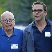 Medienmogul Murdoch reicht das Zepter weiter (Foto)