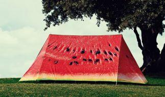 Ein ausgefallenes Zelt sorgt für Aufmerksamkeit! (Foto)