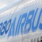 Airbus zieht auf Luftfahrtmesse an Erzrivalen Boeing vorbei (Foto)