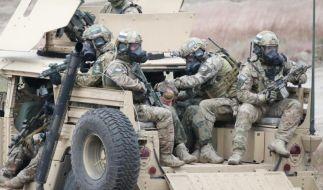 Lautes Säbelrasseln: Nato-Speerspitze stößt nach Osten vor (Foto)