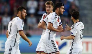 Bewährungsprobe: Im Spiel gegen Dänemark müssen die Jungs der DFB U21 Nationalmannschaften ihr Unentschieden gegen Serbien wieder gut machen. (Foto)