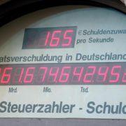 Öffentliche Schulden auf 2,06 Billionen Euro gestiegen (Foto)