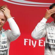 Rosberg schlägt Dauerrivale Hamilton in Spielberg (Foto)