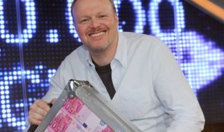 In seinen Shows spielte er oft um Millionen. Stefan Raab selbst hat ausgesorgt. (Foto)
