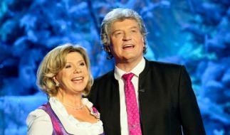 Das Gesangsduo Marianne und Michael zu Gast im Europapark Rust. (Foto)