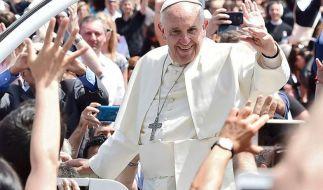 Papst Franziskus befindet sich vom 8. bis 10. Juli bei seiner Südamerika-Reise in Bolivien. (Foto)