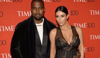 Kim Kardashian schwelgt im Mutterglück: Mit ihrem Mann Kanye West erwartet sie ihr zweites Kind. (Foto)