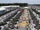 Panzer sind eine der Hauptattraktionen des Militär-Familienparks. (Foto)