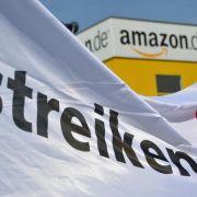 Wieder Streik bei Amazon: Sechs Logistikzentren betroffen (Foto)
