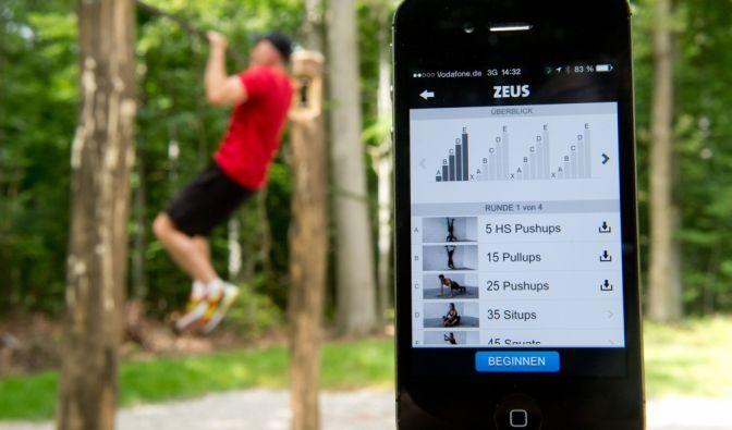 Fitness online im Test