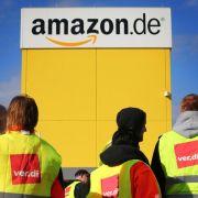 Amazon-Beschäftigte setzen Streiks fort - zentrale Kundgebung geplant (Foto)