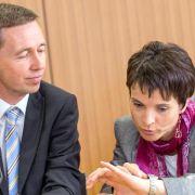 AfD: Petry würde notfalls auch mit Lucke weitermachen (Foto)
