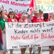 Kitas: Verdi-Mitglieder stimmen über Schlichterspruch ab (Foto)