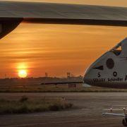 Sonnenflieger «Solar Impulse 2» läuft die Zeit davon (Foto)