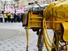 Der Post-Streik 2015 sorgt bereits in der dritten Woche für Streit zwischen Verdi und der Deutschen Post. (Foto)