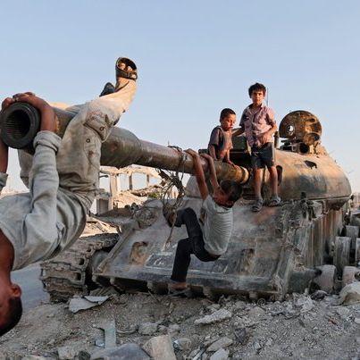 Ein bisschen Frieden und ganz viel Krieg (Foto)