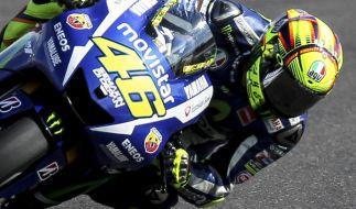Großer Preis der Niederlande: Valentino Rossi ist in Assen der Pilot mit den bisher meisten Siegen. (Foto)