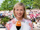 """Andrea Kiewel präsentiert eine neue Ausgabe des """"ZDF-Fernsehgartens"""". (Foto)"""