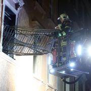 Polizei: Brandstiftung in Asylbewerberheim in Meißen (Foto)