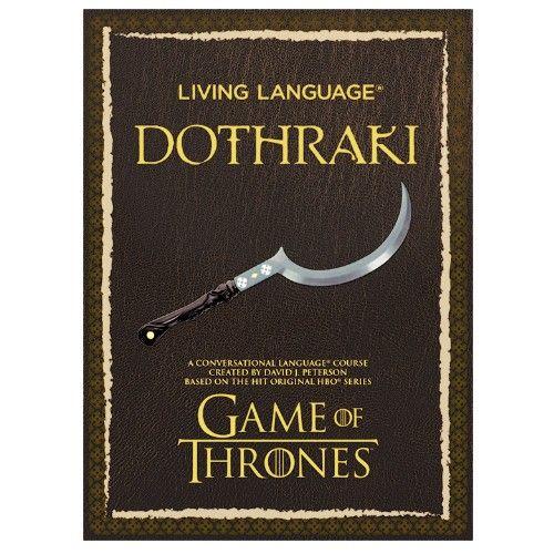 Reden wie Khal Drogo? So einfach lernen Sie Dothraki (Foto)
