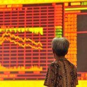 Talfahrt an Chinas Börsen geht weiter (Foto)
