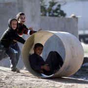 Unicef-Bericht: Jedes zehnte Kind wächst im Krieg auf (Foto)