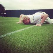 Heilig war Becker sowieso nur der Rasen in Wimbledon.