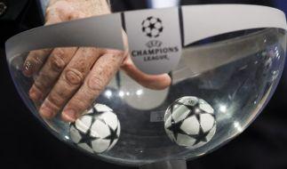 Die Champions League Auslosung lost die Duelle der Top-Teams aus. (Foto)