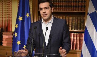 Alexis Tsipras bleibt dabei: Die Volksabstimmung findet statt und die griechische Regierung empfiehlt, dabei mit Nein zu stimmen. (Foto)