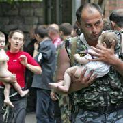 Menschenrechtsgericht urteilt über Geiseldrama in Beslan (Foto)