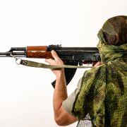 Syrische Rebellen kopieren IS-Terroristen (Foto)
