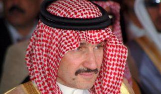 Der Prinz aus Saudi-Arabien will sein gesamtes Vermögen spenden. (Foto)